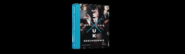 boek STUK een geschiedenis 1977 tot 2015
