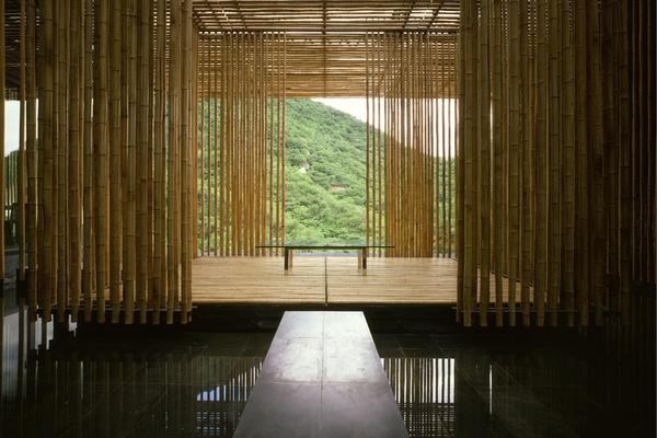 Com Lezingen Foto Web Stad Architectuur 2 Kengo Kuma Great Bamboo Wall © Satoshi Asakawa