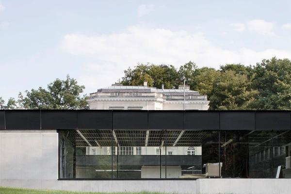 Stad Architectuur 4 Baukunst Adeps Sports Centre La Fraineuse Spa © Maxime Delvaux