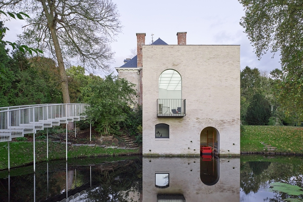 Stad Architectuur 6 Wim Goes Castle De Motte Nevele ©Kristien Daem