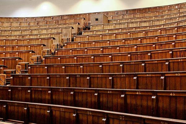 Auditorium Zitplaatsen